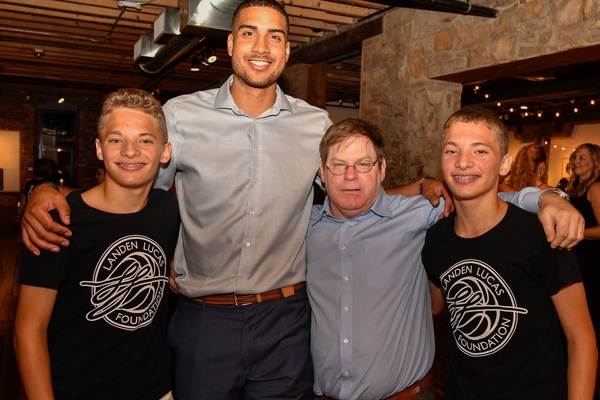 Generosity in action: Landen Lucas Foundation–Sports for Life Fund